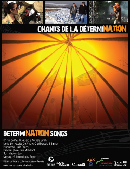 poster determination songs