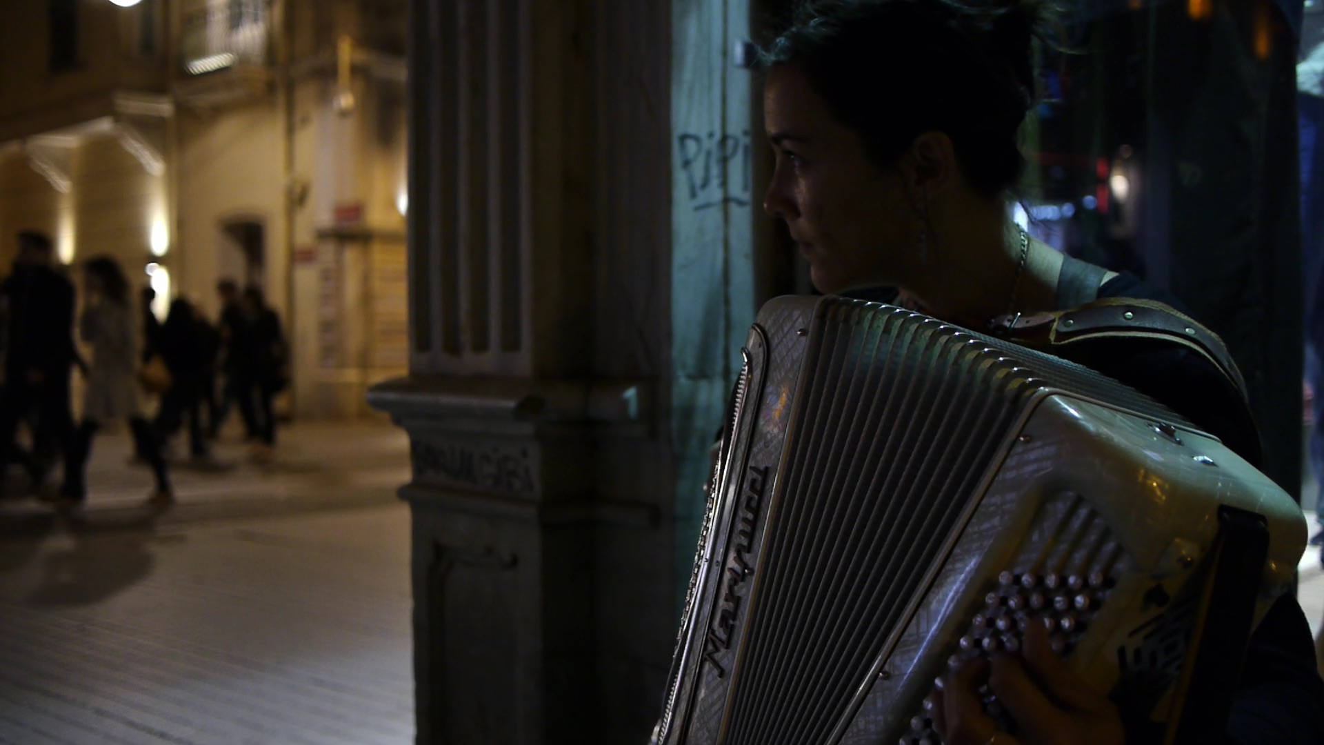 Callshop: accordionist
