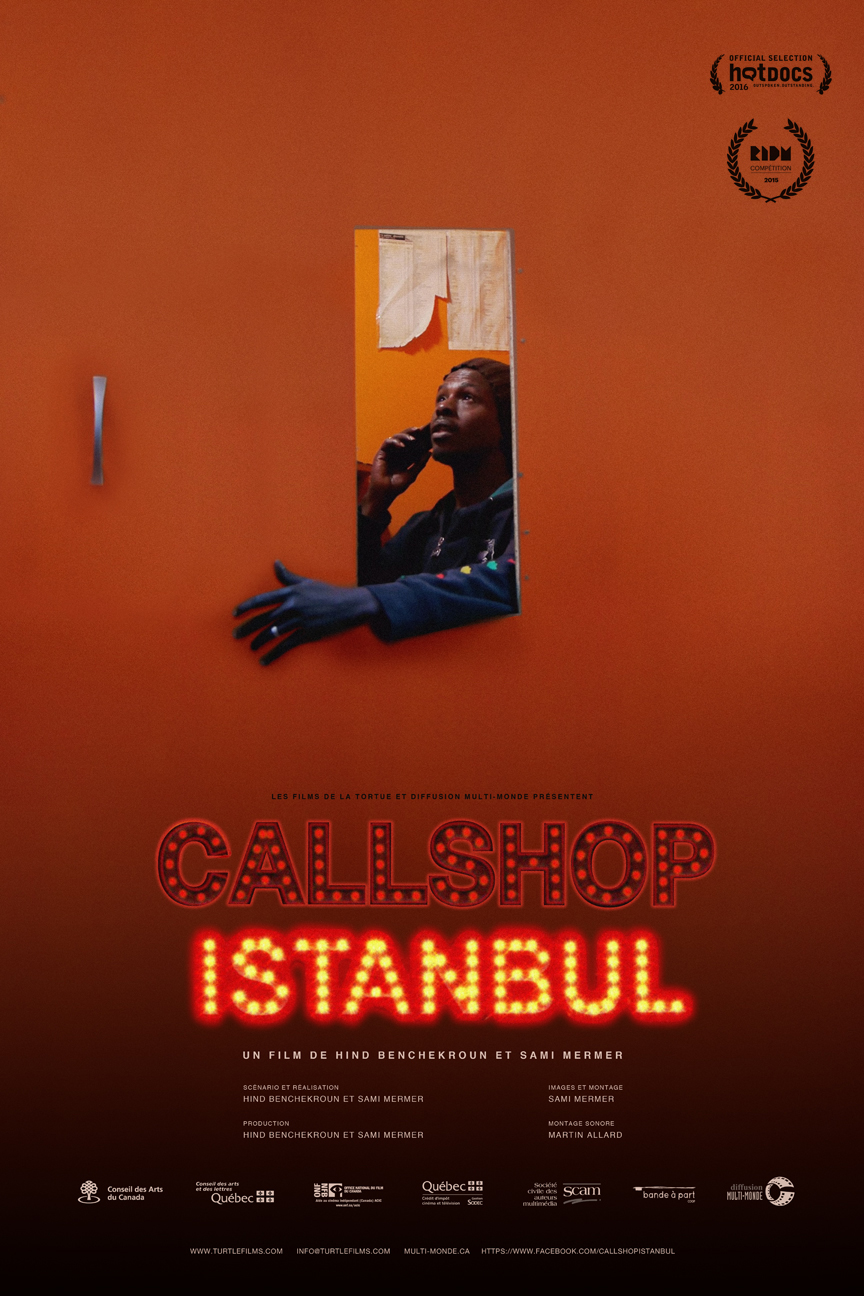 affiche - Callshop Istanbul
